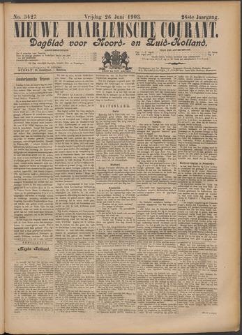 Nieuwe Haarlemsche Courant 1903-06-26
