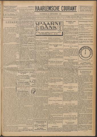 Nieuwe Haarlemsche Courant 1928-09-29