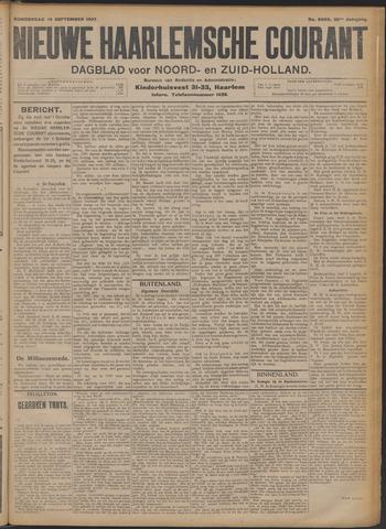 Nieuwe Haarlemsche Courant 1907-09-19