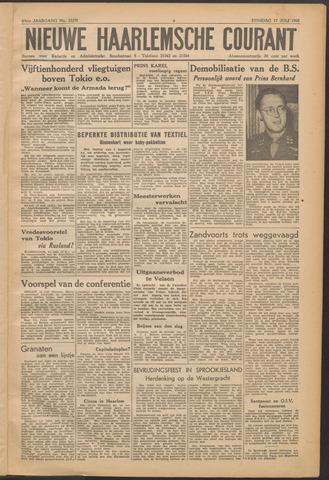 Nieuwe Haarlemsche Courant 1945-07-17