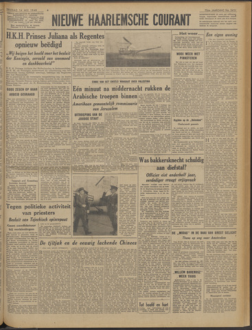 Nieuwe Haarlemsche Courant 1948-05-14