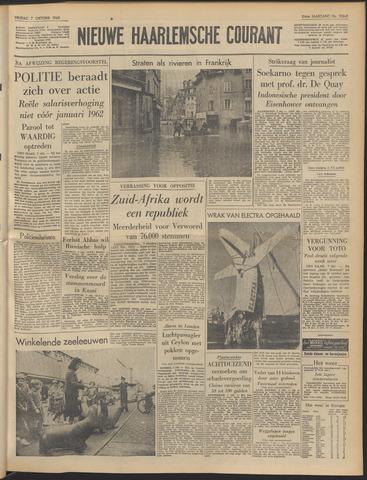 Nieuwe Haarlemsche Courant 1960-10-07