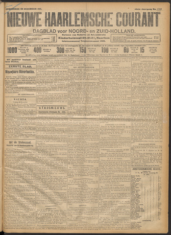 Nieuwe Haarlemsche Courant 1911-12-28