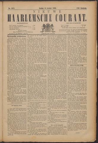 Nieuwe Haarlemsche Courant 1886-10-24
