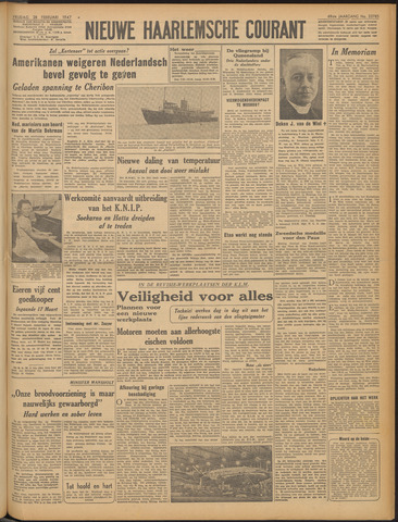 Nieuwe Haarlemsche Courant 1947-02-28