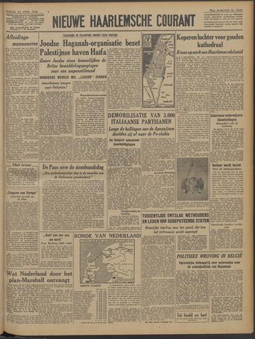 Nieuwe Haarlemsche Courant 1948-04-23