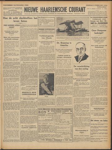 Nieuwe Haarlemsche Courant 1936-02-09