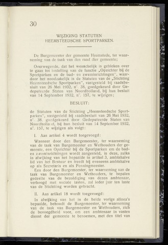 Raadsnotulen Heemstede 1942-07-16