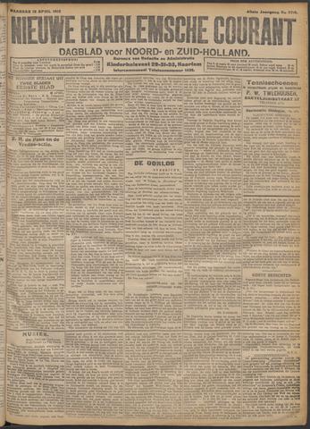 Nieuwe Haarlemsche Courant 1915-04-12