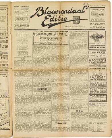 Bloemendaal's Editie 1927-01-07