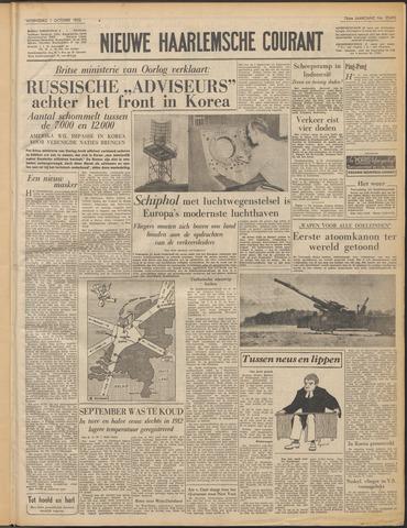 Nieuwe Haarlemsche Courant 1952-10-01