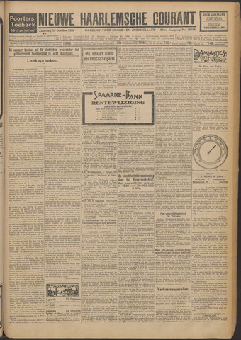 Nieuwe Haarlemsche Courant 1925-10-10