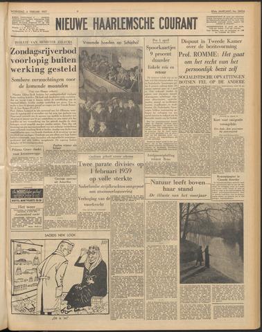 Nieuwe Haarlemsche Courant 1957-02-06