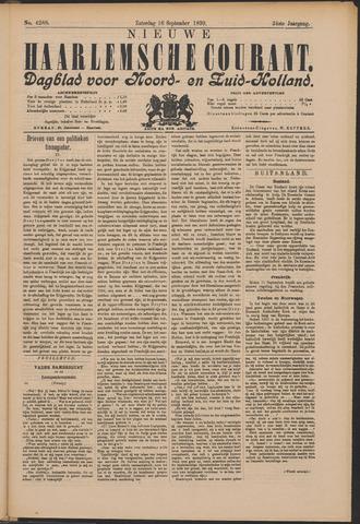 Nieuwe Haarlemsche Courant 1899-09-16