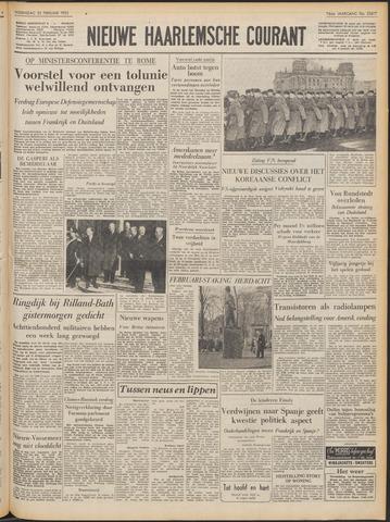 Nieuwe Haarlemsche Courant 1953-02-25