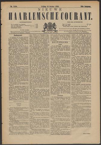Nieuwe Haarlemsche Courant 1894-10-19