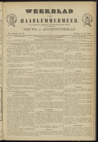 Weekblad van Haarlemmermeer 1885-07-11