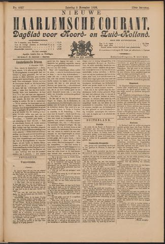 Nieuwe Haarlemsche Courant 1898-11-05