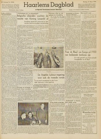 Haarlem's Dagblad 1950-03-14