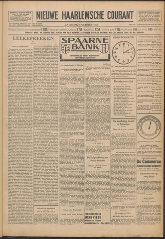 Nieuwe Haarlemsche Courant 1931-10-03