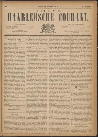Nieuwe Haarlemsche Courant 1878-11-24
