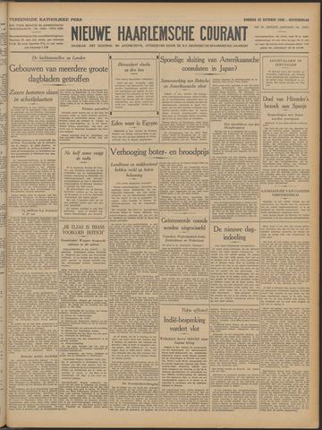 Nieuwe Haarlemsche Courant 1940-10-22