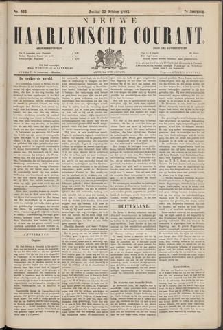 Nieuwe Haarlemsche Courant 1882-10-22
