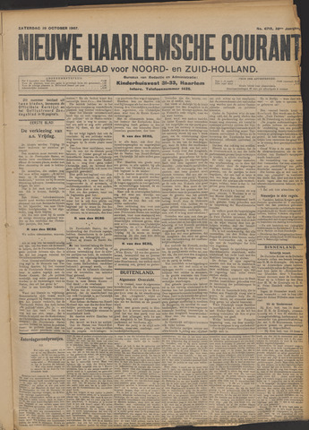 Nieuwe Haarlemsche Courant 1907-10-19