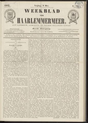 Weekblad van Haarlemmermeer 1862-05-09