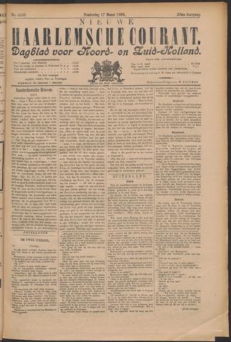 Nieuwe Haarlemsche Courant 1898-03-17