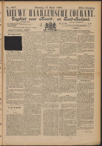 Nieuwe Haarlemsche Courant 1906-03-12