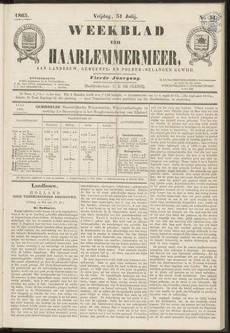 Weekblad van Haarlemmermeer 1863-07-31