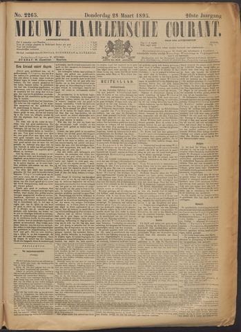 Nieuwe Haarlemsche Courant 1895-03-28
