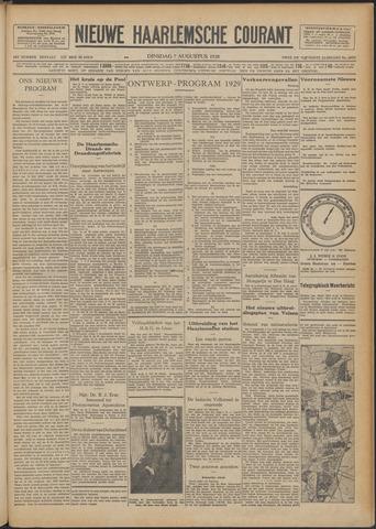 Nieuwe Haarlemsche Courant 1928-08-07