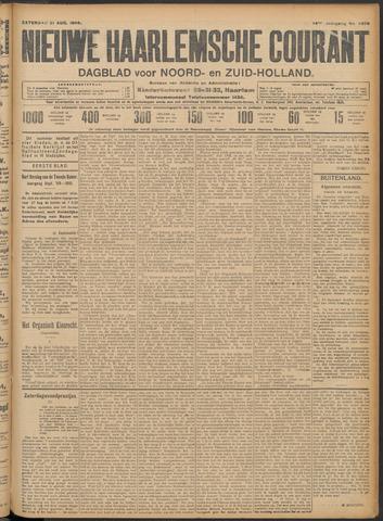 Nieuwe Haarlemsche Courant 1909-08-21