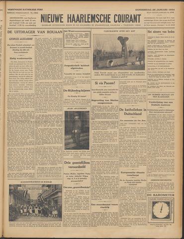 Nieuwe Haarlemsche Courant 1934-01-25