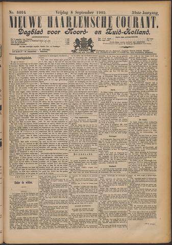 Nieuwe Haarlemsche Courant 1905-09-08