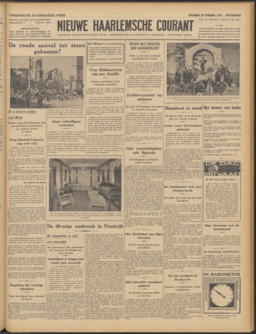 Nieuwe Haarlemsche Courant 1937-02-20