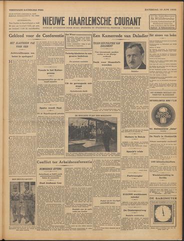 Nieuwe Haarlemsche Courant 1933-06-10