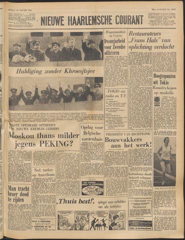 Nieuwe Haarlemsche Courant 1964-10-20
