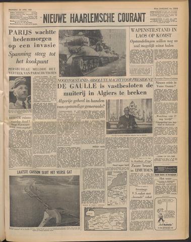 Nieuwe Haarlemsche Courant 1961-04-24