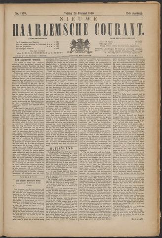 Nieuwe Haarlemsche Courant 1890-02-28