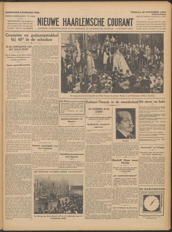 Nieuwe Haarlemsche Courant 1934-11-30