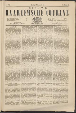 Nieuwe Haarlemsche Courant 1884-02-17