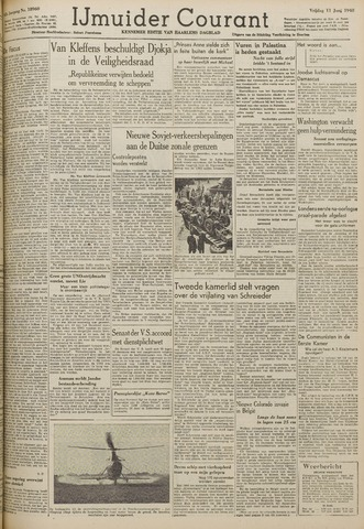 IJmuider Courant 1948-06-11
