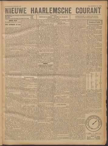 Nieuwe Haarlemsche Courant 1922-02-09