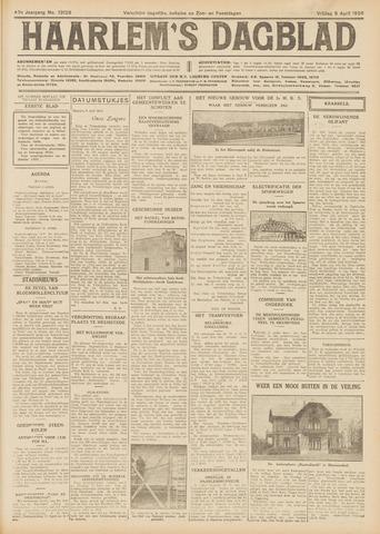 Haarlem's Dagblad 1926-04-09