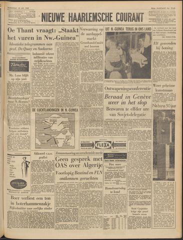 Nieuwe Haarlemsche Courant 1962-05-30