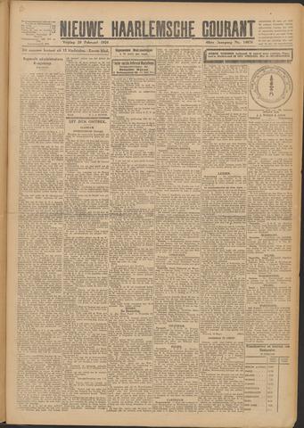 Nieuwe Haarlemsche Courant 1924-02-29