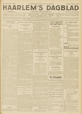 Haarlem's Dagblad 1935-10-11
